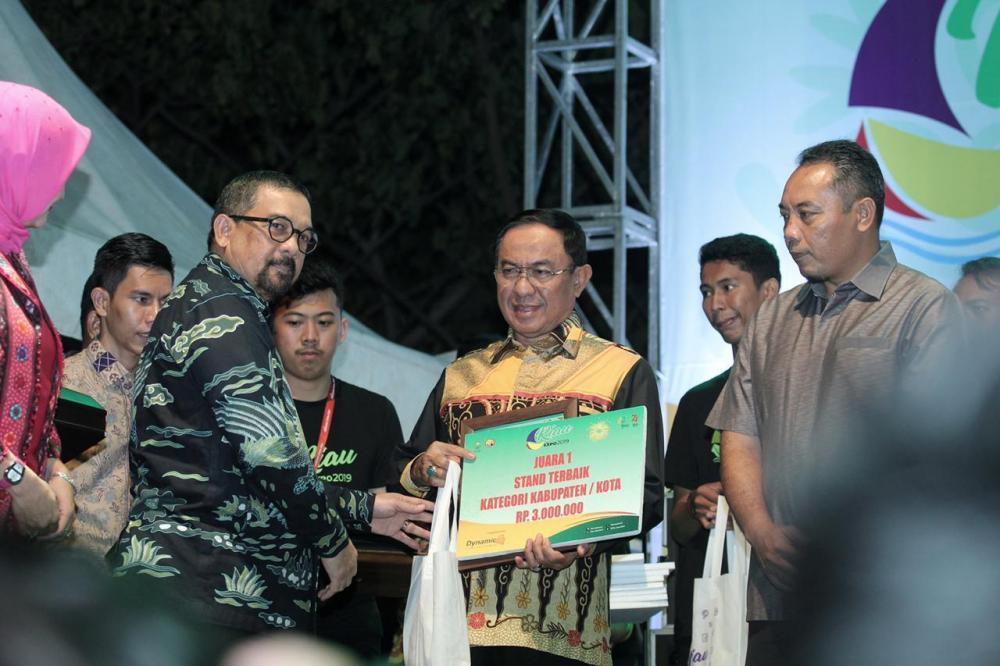 Kabupaten Indragiri Hilir Juara 1 Stand Terbaik Pada Riau Expo 2019 Dari 12 Kab/Kota Se Riau