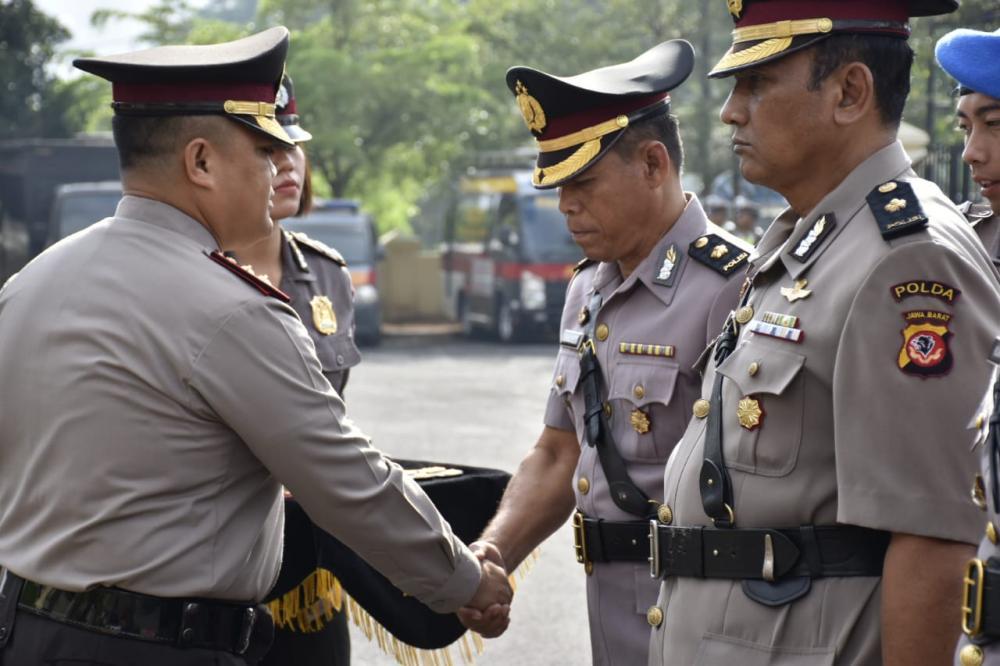 Polres Banjar Gelar serah terima jabatan Kabag Ops