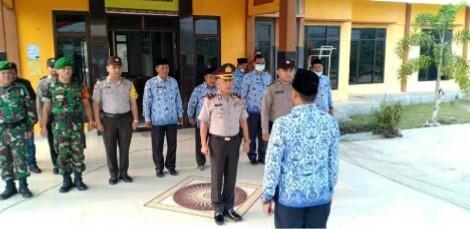Kapolsek Bagan Sinembah Irup HKN di Balai Jaya dan Himbau ini..