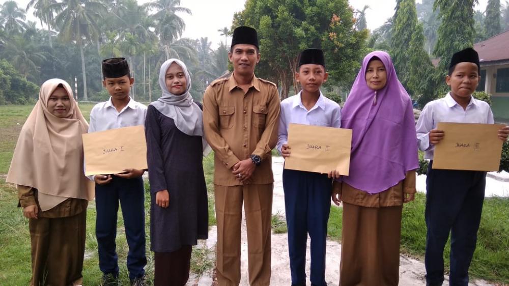 Tingkatkan Motivasi, MTs Al.Anshor Tanjung Kapal Gelar Lomba Kebersihan Kelas