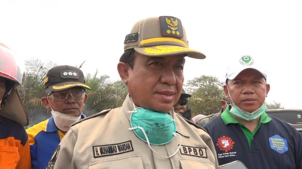 Bupati Indragiri Hilir  HM Wardan Apresiasi Pelantikan FKWI Periode 2019-2022 Datangkan Pemateri Dewan Pers