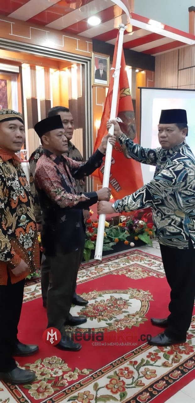 Musyawarah Daerah Ke III Ikatan Keluarga Jawa Riau(IKJR) Kab Inhil Samino S.TP M.Si Terpilih Sebagai Ketua Umum