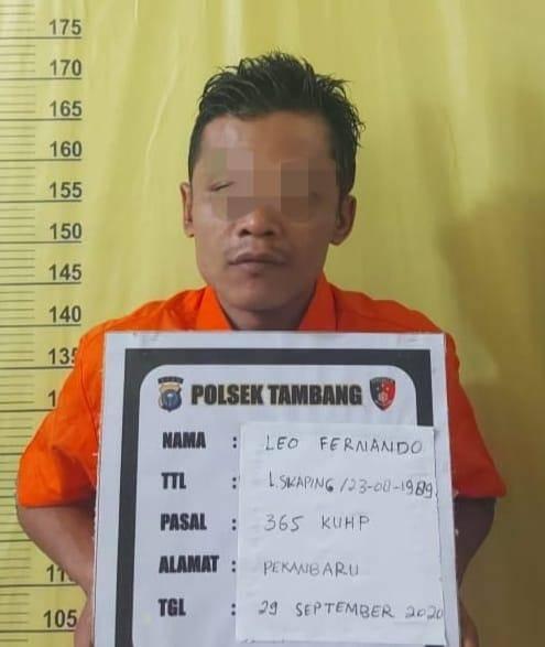 Pelaku Jambret Berhasil Diamankan Warga dan Diserahkan ke Polsek Tambang