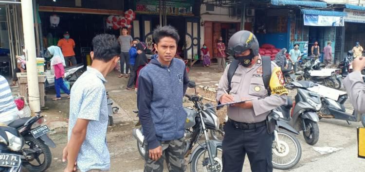 Polsek Bagan Sinembah Kembali Gelar Operasi Yustisi