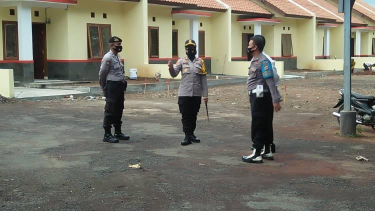 Kapolres Banjar AKBP Melda Yanny, S.I.K., MH. Cek Mako Kepolisian Sektor Pataruman Berikut Rumah Dinas