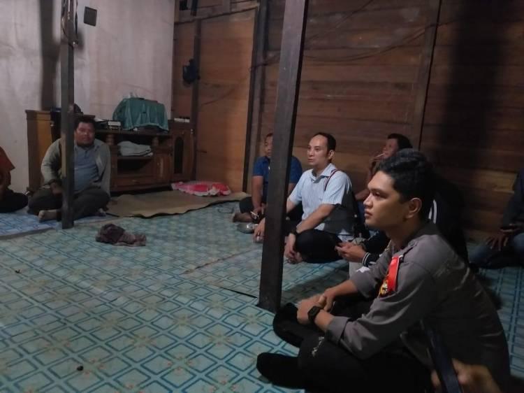 Pasca Bentrok Warga dan Sekuriti PT. NWR, Kapolres Pelalawan Mediasi Kedua Pihak