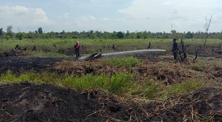 Manajer PT SBP Klarifikasi Karhutla di Area HGU PT SBP Kabupaten Pelalawan