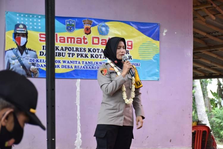 Wakil Walikota Banjar Bersama Kapolres Resmikan Kampung Tangguh Desa Rejasari, Jabar