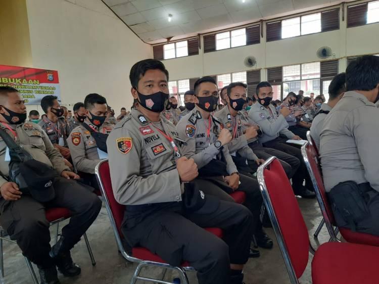 20 Personil Polres Kuansing Ikuti Pelatihan Walpri Komisioner dan Colon Bupati/Wakil
