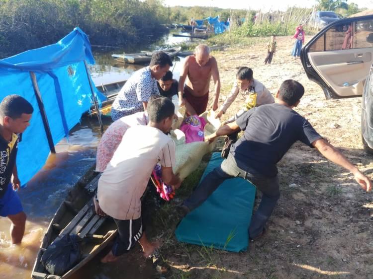 Permisi Buang Air, Samosir Malah Ditemukan Tewas Tenggelam di Sungai Labuhan Dagang