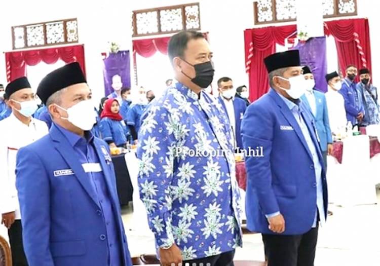 Bupati Inhil HM. Wardan Diwakili Asisten I Hadiri Muscab PAN se-Kabupaten Inhil