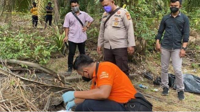 Pembunuhan Remaja Di Inhu Terungkap,Pelaku Pura Pura Ikut Cari Korban Yang Hilang