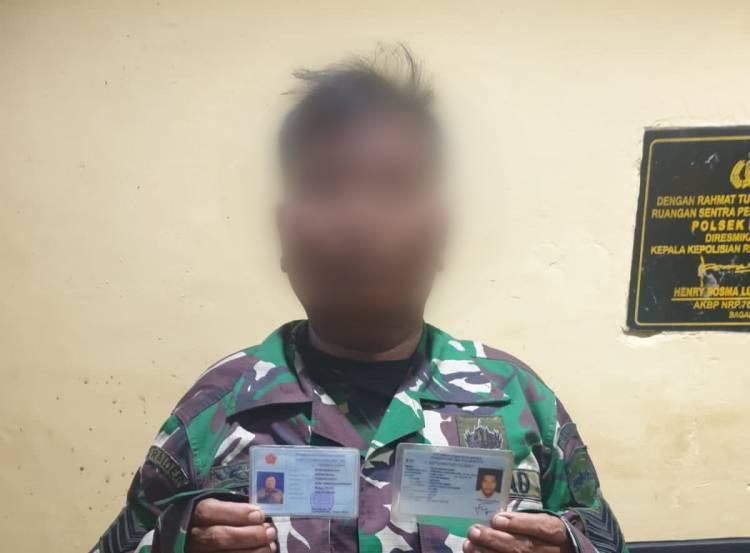 TNI Gadungan di Rohil Diamankan Polsek Bangko