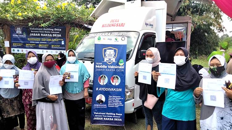 "IKA MUDA UNPAD Bersama KPU Kota Banjar dan Pemprov Jabar Gelar Mobile Vaksinasi ""Jabar Raksa Desa"""