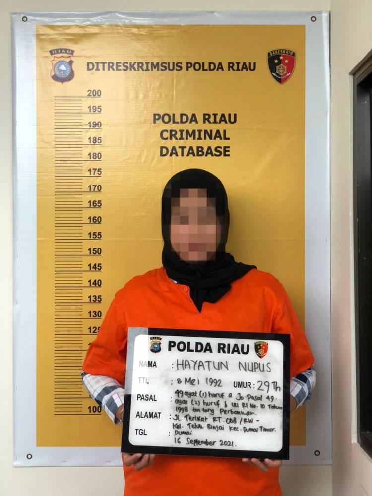 Mantan Teller Bank BRI Bobol Rekening Nasabah Hingga Miliyaran Rupiah Di Riau Berhasil Dibekuk Polisi