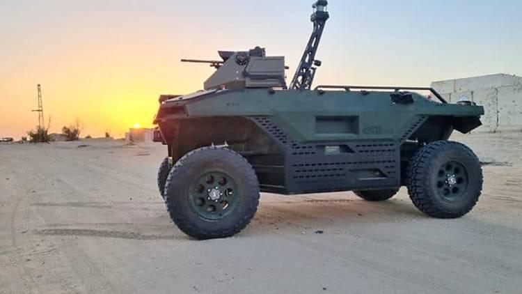 Intip Kecanggihan Rex MK II, Ranpur Darat Tak Berawak Terbaru Buatan Israel