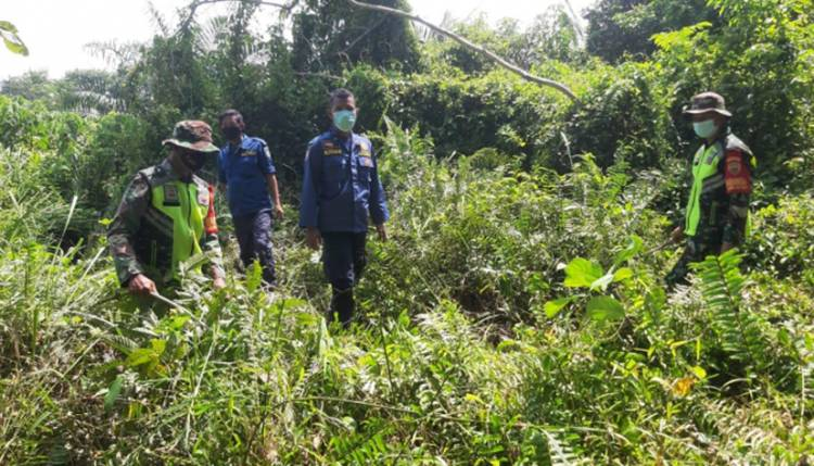 Babinsa Koramil 05/Rupat Kembali Gelar Patroli Lahan Rawan Kebakaran