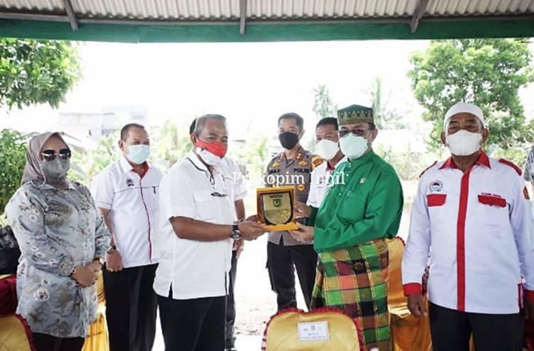 Bupati Inhil HM. Wardan Sambut Kedatangan Kesbangpol dan FPK Provinsi Riau