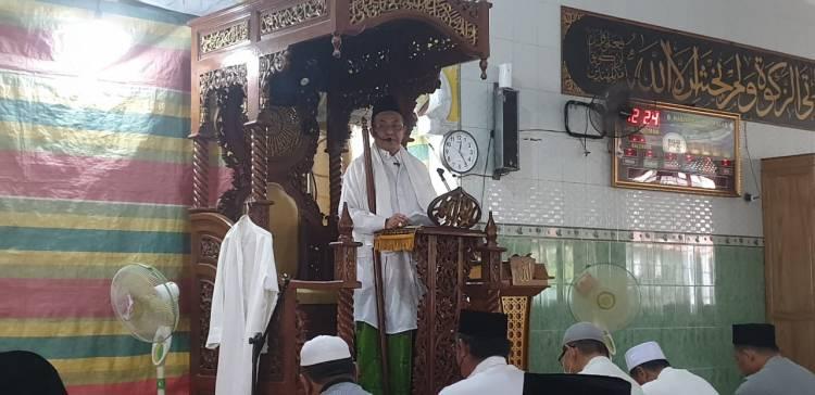 Bupati Khatib Shalat Jumat di Masjid Al-Falah, Keritang