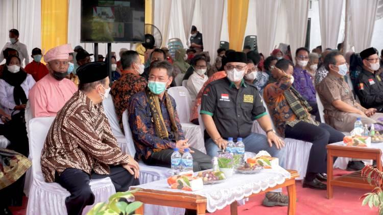 Wakil Presiden Panen Perdana PSR di Rohil Secara Virtual