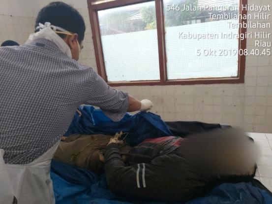 Korban Tenggelam Di Sungai Indragiri Di Temukan Dalam Keadaan Sudah Meninggal Dunia