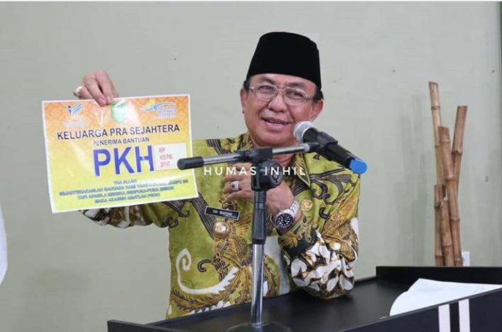 Hadiri Rapat PKH,Bupati HM Wardan Ingin Sinergikan PKH Dengan Program Yang Telah Disusun Melalui Kebijakan  Pemkab Inhi