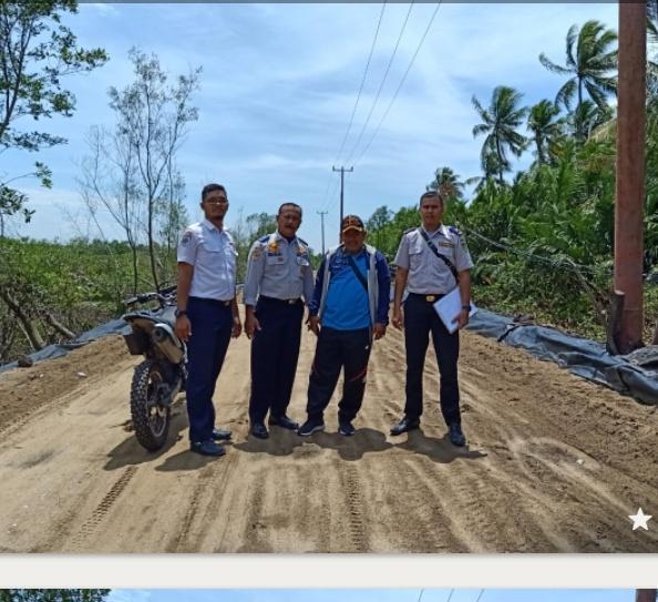 Sudah Lama di Tunggu Masyarakat Desa Air Tawar, Akhirnya Jalan di Bangun Pemerintah