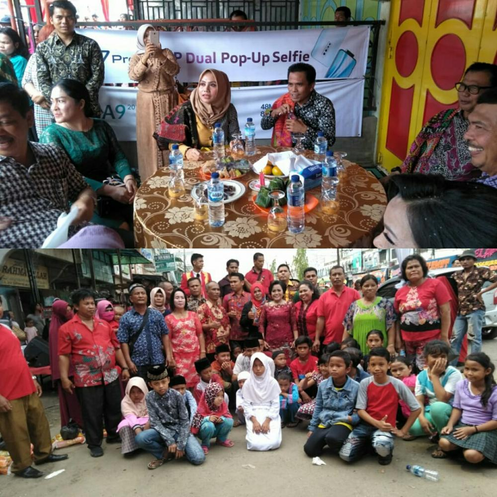 Bupati Rohil dan Ketua DPRD Rohil Hadiri Syukuran yang Digelar Maria Tambunan