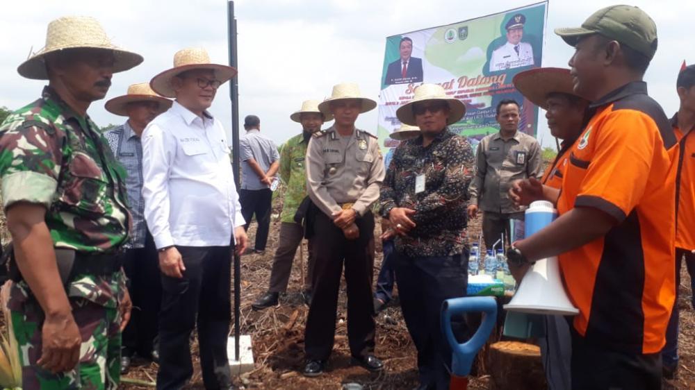 Kepala Badan Restorasi Gambut (BRG) RI Lakukan Kunjungan Kerja di Kecamatan Rupat
