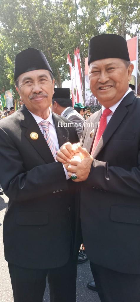 "Wakil Bupati H.Syamsuddin Uti ""TNI Kebangaan Rakyat"""