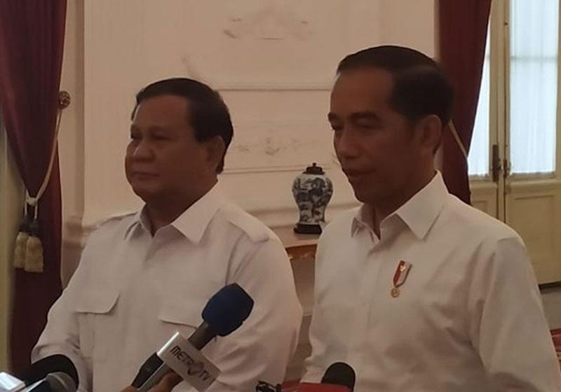 Hubungan Prabowo dan Jokowi Semakin Mesra