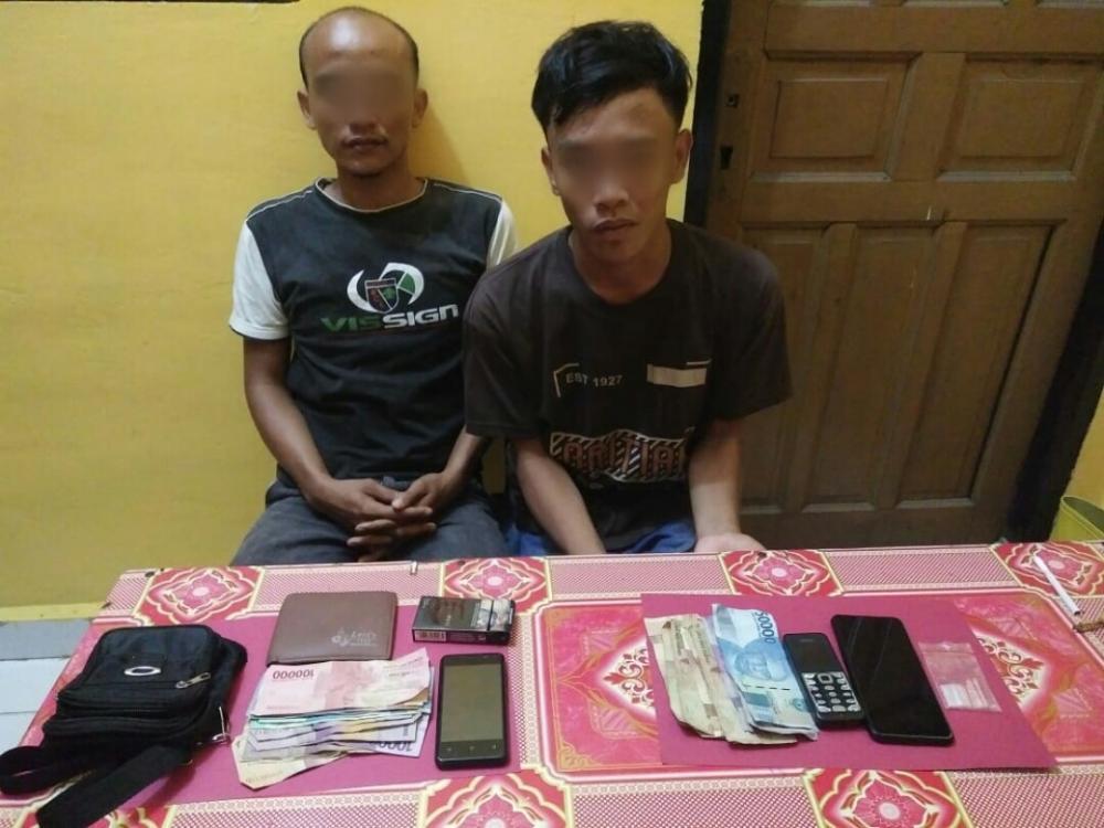 Polsek Bagan Sinembah Ringkus 2 Pelaku Penyalahgunaan Narkoba, 1 DPO