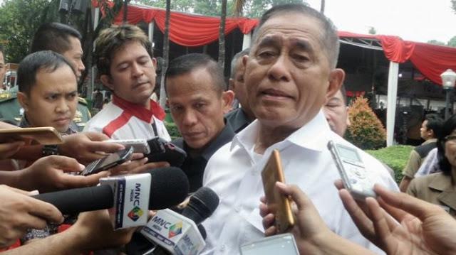 Apa Kata Menhan Ryamizard Ditanya Soal Isu Prabowo Jadi Menteri Pertahanan
