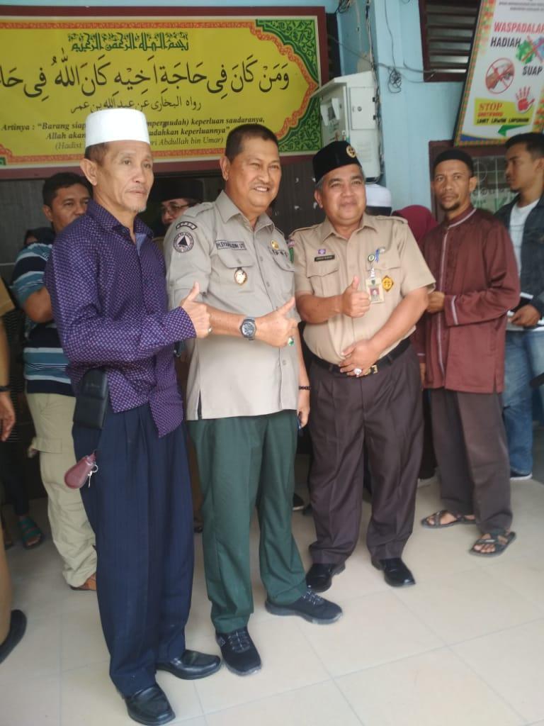 Wakil Bupati Inhil H Syamsuddin Uti Apreseasi Kinerja Disdukcapil Inhil