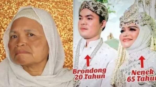 Viral Nenek Usia 65 Tahun Menikahi Berondong Usia 20 Tahun