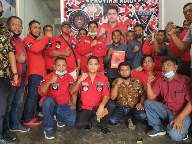 Akhirnya PBB Rohul Terima SK Definitif dari DPD PBB Provinsi Riau