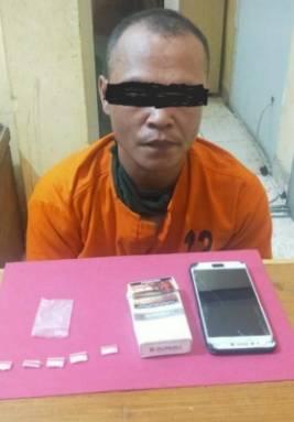 Pengedar Sabu Ditangkap Satresnarkoba Polres Pelalawan