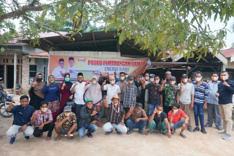 Kampanye Dialogis Pertemuan Terbatas, Paslon Camar Sampaikan Misi Good Governance