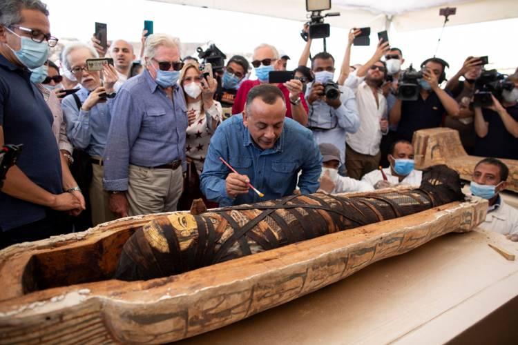 Arkeolog Mesir Temukan 59 Peti Mati Berusia 2.500 Tahun