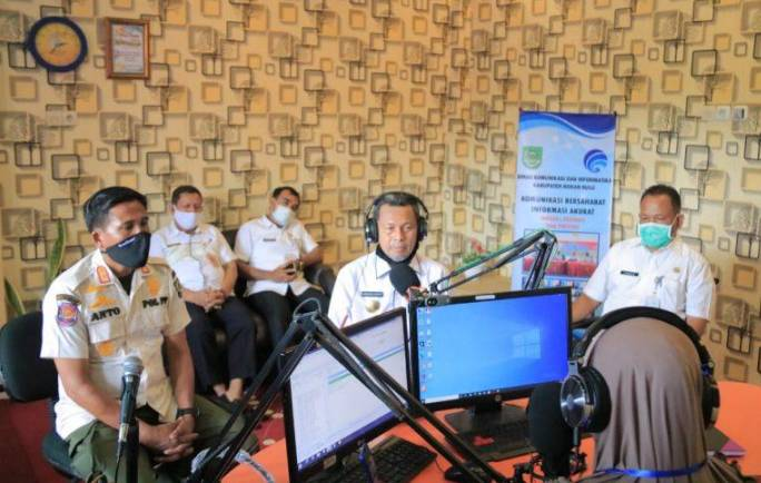 Pjs Bupati Rohul Tingkatkan Peran Media Pemerintah sebagai Sarana Komunikasi Publik