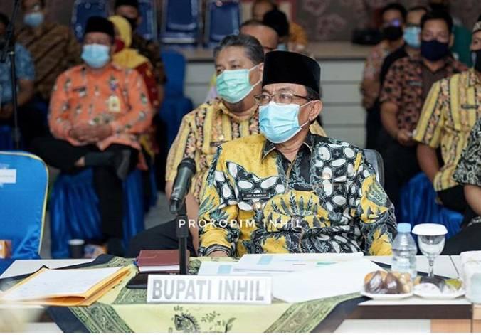 HM Wardan Hadiri Simulasi Pelaksanaan Evaluasi RB dan SAKIP