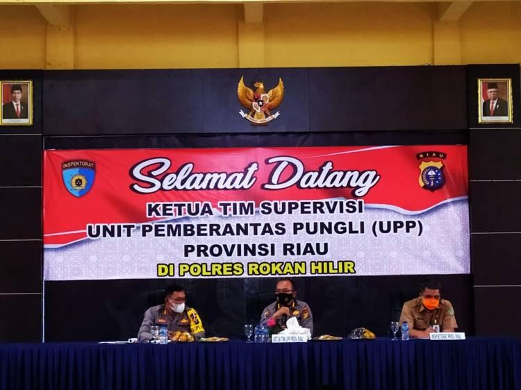 UPP Provinsi Riau Lakukan Supervisi di Polres Rokan Hilir
