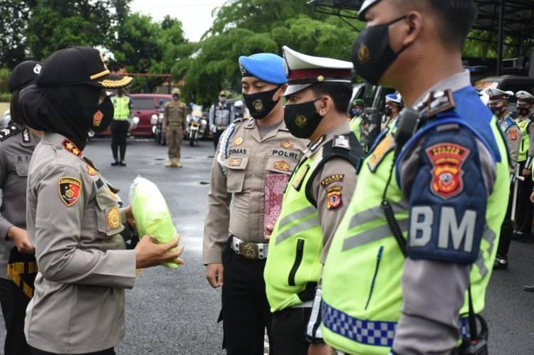 Kapolres Banjar Pimpin Gelar Pasukan Operasi Zebra Lodaya 2020