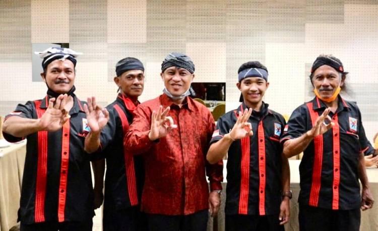 Tokoh Sepuh dan Muda Suku Jawa Riau Siap Menangkan Pasangan Kasmarni Bagus Santoso