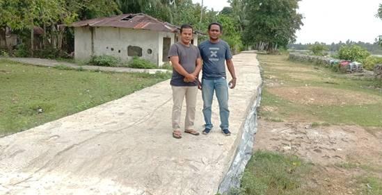 Pandemi Covid-19 Tak Halangi Geliat Pembangunan di Desa Pulau Rengas