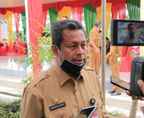 Pjs Bupati Rohul Ajak Pemuda jadi Agen Pelaksana Prokes Covid-19