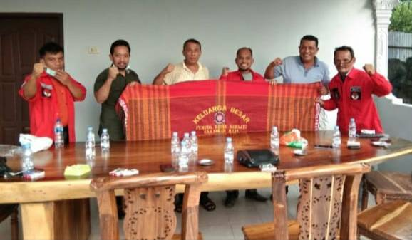 Bangun Relasi Kepemudaan Ditengah Kemajemukan Negeri Seribu Kubah, DPC PBB Rohil Silaturahmi Pada Ketua MPC PP Rohil