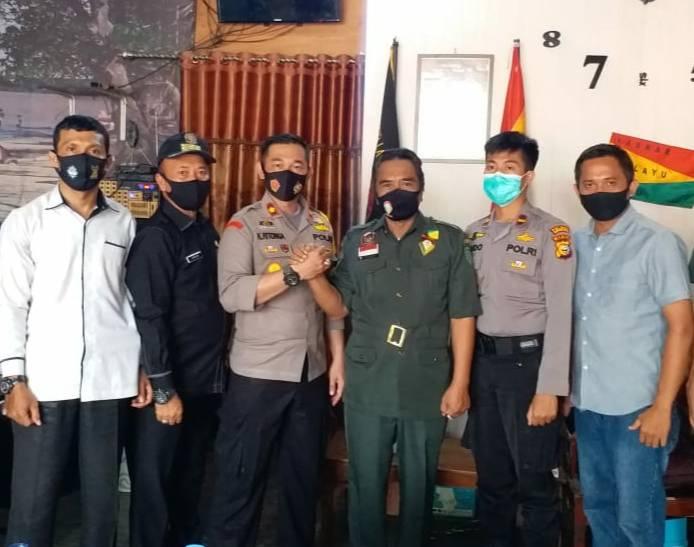 Pererat Silahturrahmi, Wakapolres Inhil Kunjungi DPD LMR Inhil