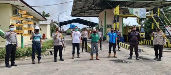 Polres Kuansing Gelar Razia Perusahaan Besar yang Beroperasi di Kuansing