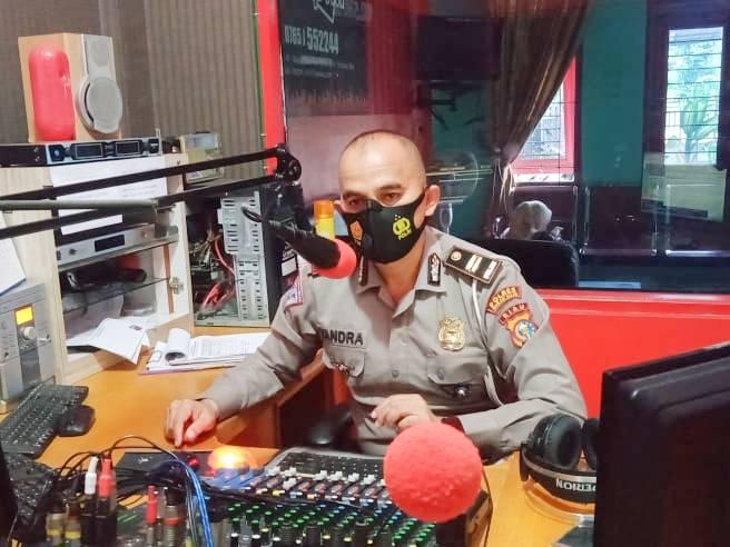 Operasi Zebra 2020, Kanit Lantas Ajak Masyarakat Turut Sukseskan Lewat Radio